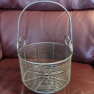 Other - Artisan made Victoria BC metal basket
